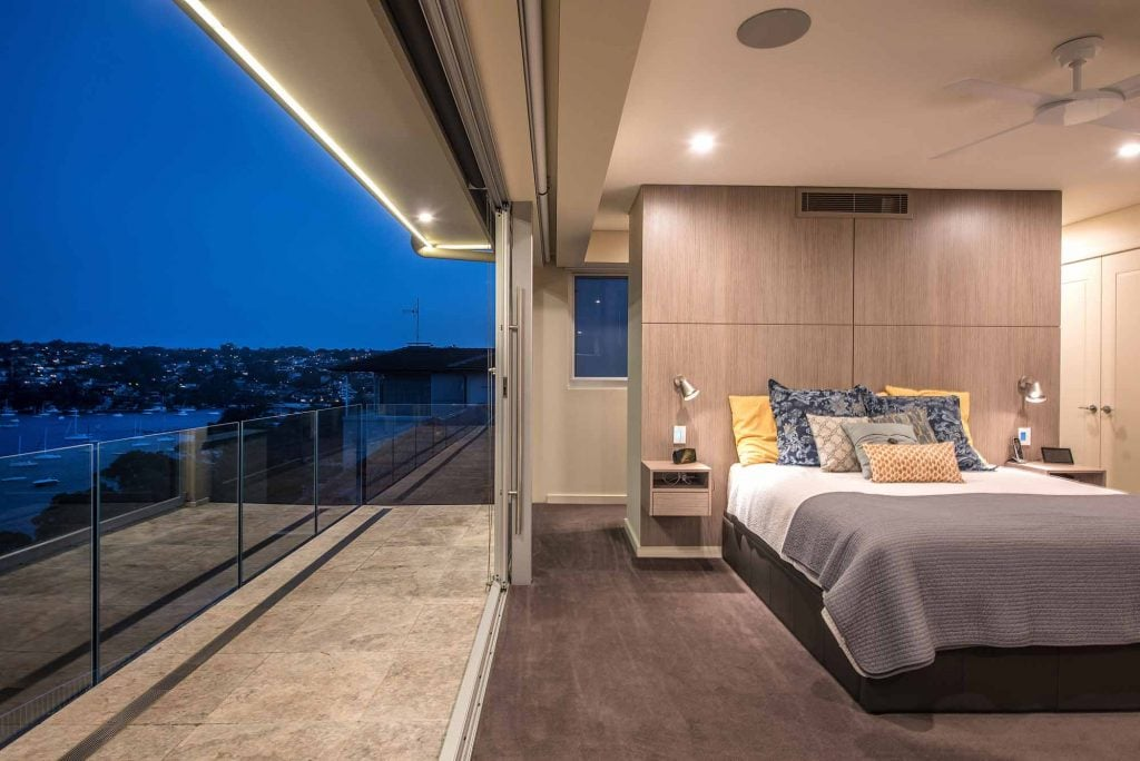 Balcony View from the Airin by Merit Homes
