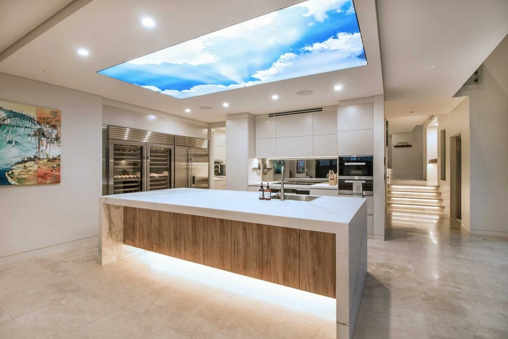 Kitchen View of The Bec by Merit Homes